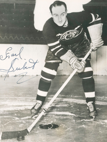 Earl Seibert Chicago Black Hawks Legend