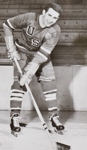 Gene Campbell 1956 United States Men's National Ice Hockey Team