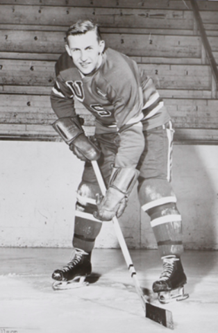 Weldy Olson 1956 United States Men's National Ice Hockey Team