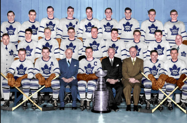 Toronto Maple Leafs 1949 Stanley Cup Champions
