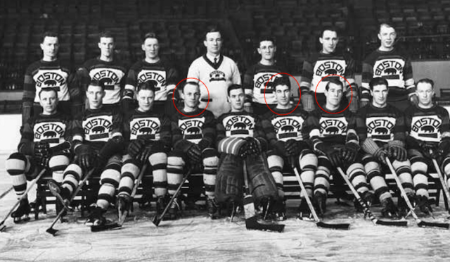 Boston Bruins Team Photo 1930