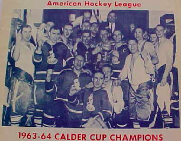 Cleveland Barons 1964 Calder Cup Champions