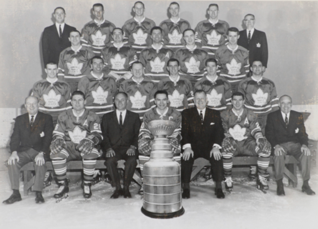 Toronto Maple Leafs Team Photo 1964 Stanley Cup Champions