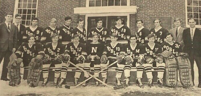 Noble & Greenough Bulldogs Hockey Team 1969-70 Independent School League Champs
