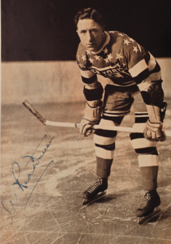 "Mervyn ""Red"" Dutton 1935 New York Americans"