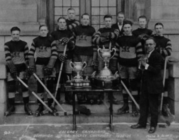 Calgary Canadians 1926 Memorial Cup Champions