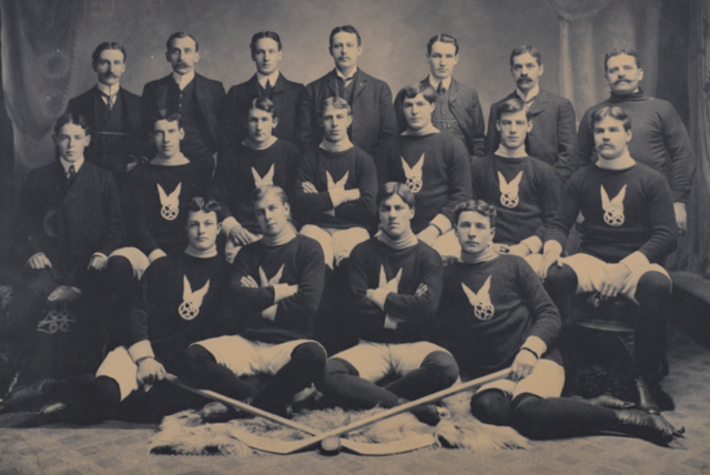 Montreal Hockey Club / Montreal AAA 1902 Stanley Cup Champions