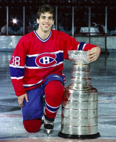 Chris Chelios 1986 Stanley Cup Champion