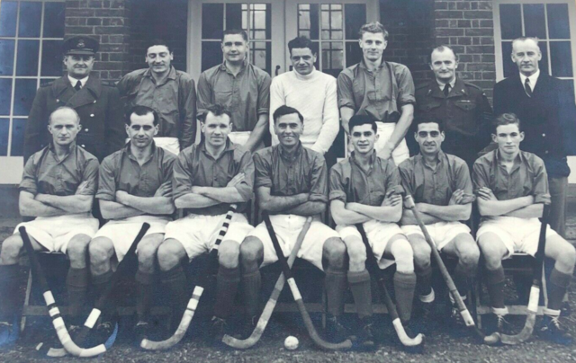 R.A.F. Inter-Commans Cup Team 1949 Field Hockey