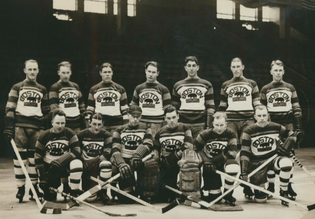 Boston Bruins Team Photo 1928