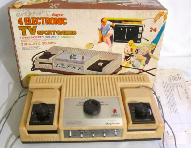 BAG-A-TEL by Calfax Electronic Hockey Game 1976