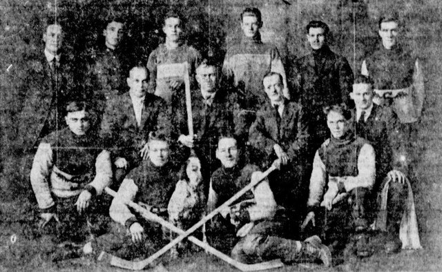 Edmonton South Side Athletic Club 1918–19