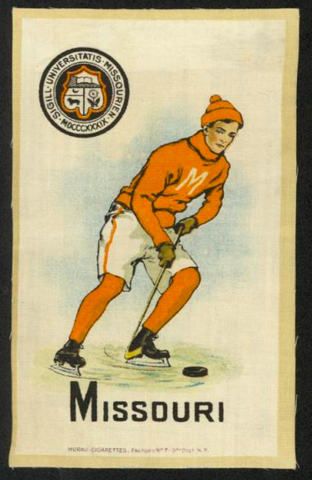 Hockey Silk Missouri 1910