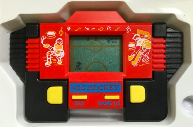 Melody Alarm Games  1982 Hand Held Hockey Game