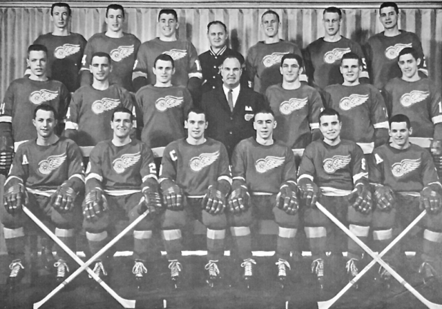 Hamilton Red Wings 1961-62