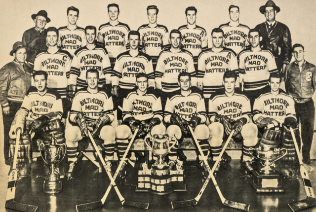 Guelph Biltmore Mad Hatters 1952 Memorial Cup Champions