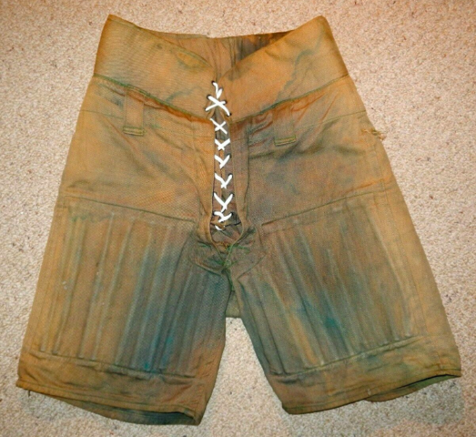 Antique Hockey Pants 1920s Carr Athletic Company