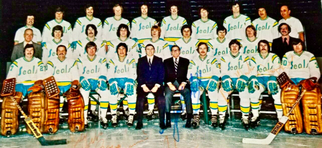 California Golden Seals 1974-5