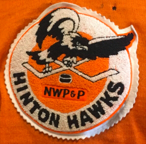 Hinton Hawks Jersey Patch 1940s