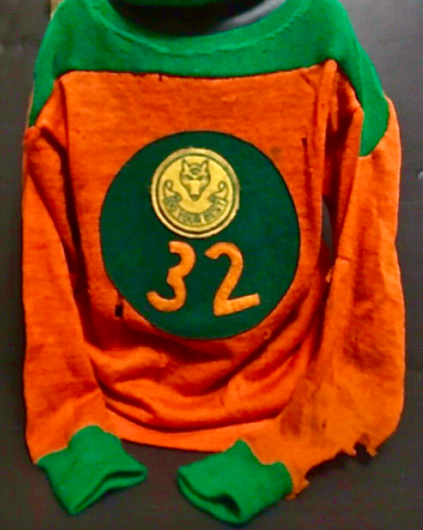 Boy Scouts Hockey History - Vintage Wool Boy Scouts Hockey Jersey 1950s