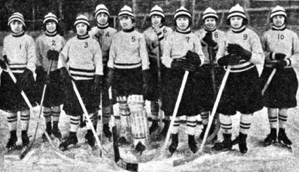 Iroquois Falls Ladies Hockey Team 1923