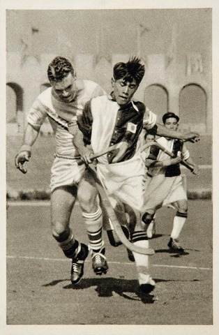 Los Angeles Summer Olympics - 1932 - Action - India vs USA