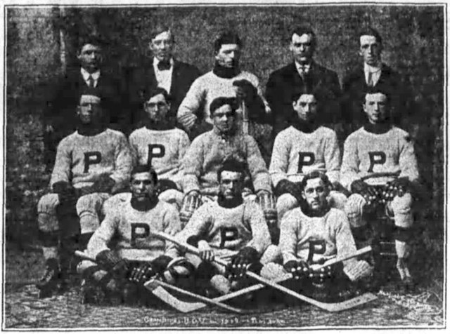 Pembroke Hockey Club 1911–12