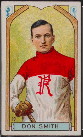 Don Smith Hockey Card 1911 C55 Imperial Tobacco No. 19