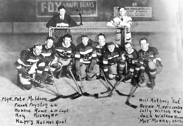 Seattle Metropolitans Hockey Team 1919