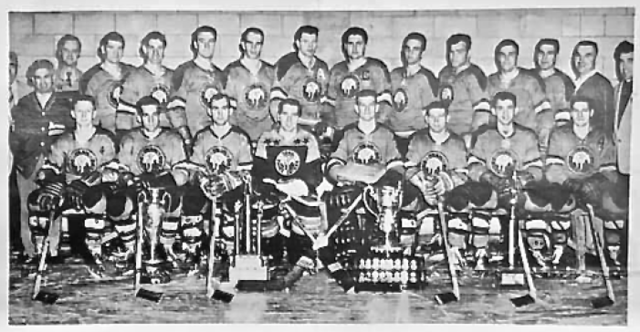 Trail Smoke Eaters 1960 Patton Cup Champions / Savage Cup Champions