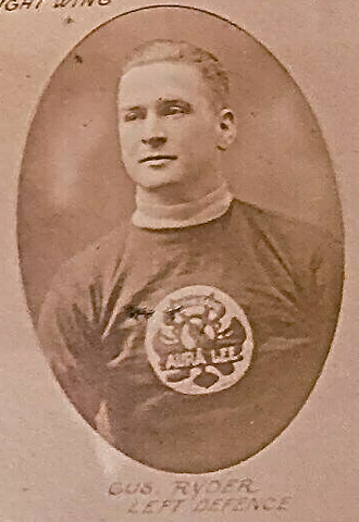Gus Ryder 1922 Toronto Aura Lee Hockey Team