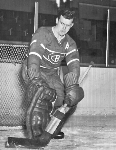Bill Durnan 1947 Montreal Canadiens Assistant Captain