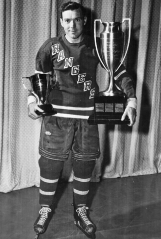 Buddy O'Connor - Lady Byng Trophy Winner 1948 Hart Trophy Winner