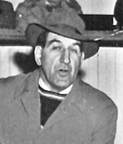 Eddie Jeremiah 1952 Team USA Olympic Ice Hockey Coach