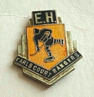 Earls Court Rangers Hockey Pin for Empress Hall