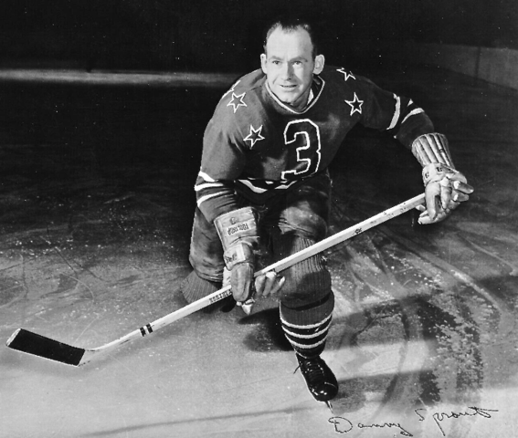 Danny Sprout 1947 Cleveland Barons