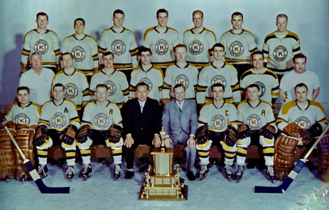 Kingston Frontenacs 1963 Eastern Professional Hockey League / EPHL Champions