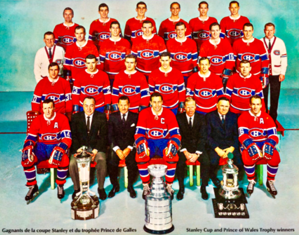 Montreal Canadiens 1968 Stanley Cup Champions