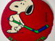 Snoopy Hockey - Snoopy Hockey Pillow - Snoopy Hockey Hat Trick Pillow 1970s