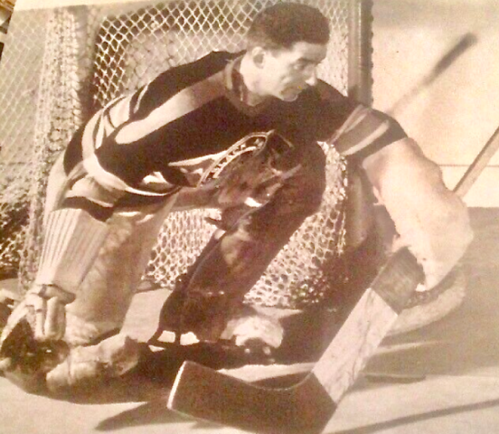 Alfie Moore 1938 Chicago Black Hawks