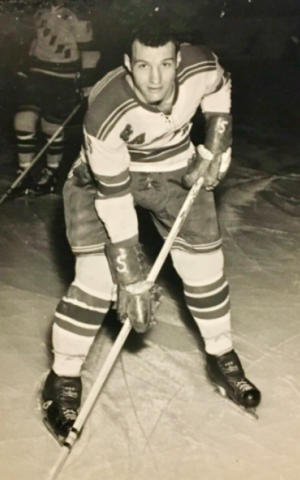 Al LeBrun 1961 New York Rangers