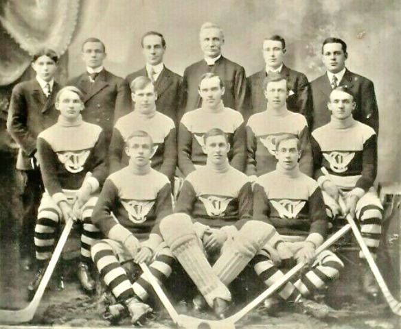 Trenton Hockey Team 1908 St. Lawrence League Champions
