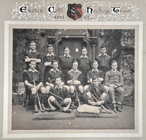 Exeter College Hockey Team 1911 Oxford University