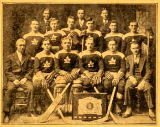 Renfrew Junior Hockey Club 1931 Upper & Lower Ottawa Valley League Champions