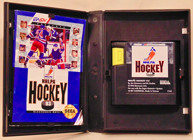 EA Sports NHLPA Hockey 93 Sega Mega Drive