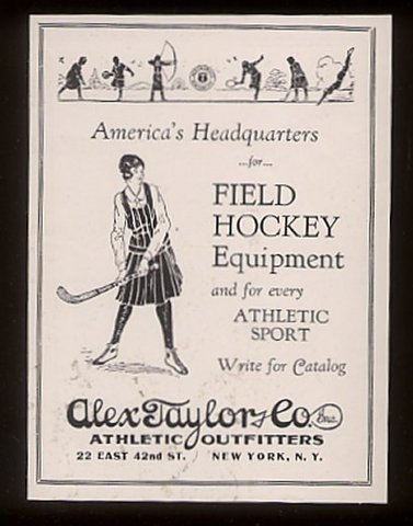 Field Hockey Poster - 1927