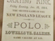 Lowell Skating Rink 1884 Roller Polo