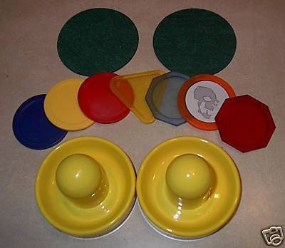 Hockey Air Hockey Table Pucks 1