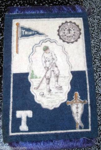 Hockey 1908 Trinity College Felt