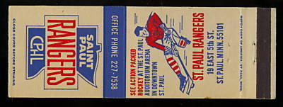 Hockey Matchbook 1